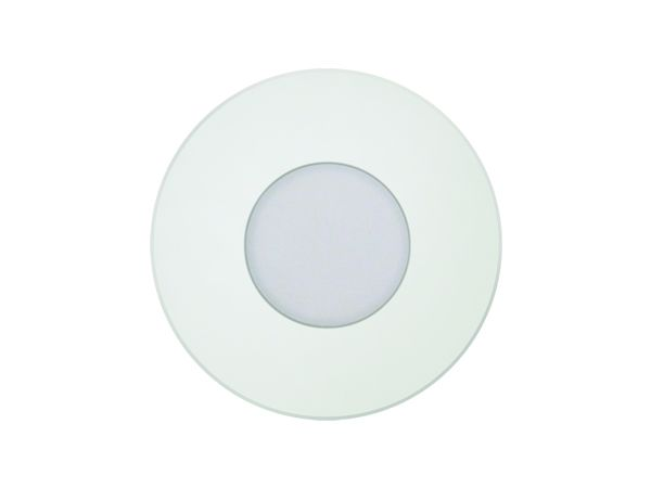 Image 1 of Alcon Lighting 9055 Ara LED Architectural Round Translucent Open Lens Recessed Pathway/Step Light