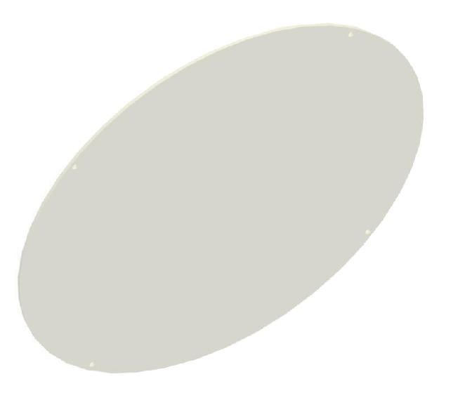 Image 1 of RAB GDBAYLED78P Polyshield Guard for BAYLED / AISLED Luminaires