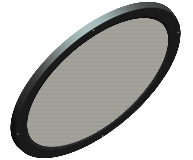 Image 1 of RAB LFBAYLED78W Lens and Doorframe for BAYLED / AISLED Luminaires