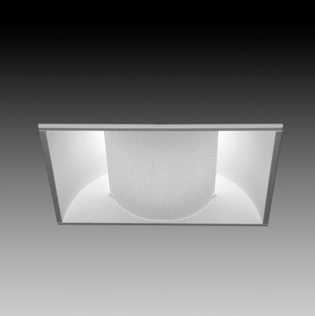 Image 1 of Focal Point Lighting FLUB11B2BX18S Luna 1x1 Architectural Recessed Fluorescent Fixture
