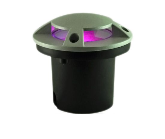 Alcon Lighting 90044 Outdoor LED RGB In-Ground Landscape Light Color Changing LED Well Light Remote Controlled