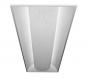 Alcon Lighting 24000 Elite Architectural LED 1x4 Recessed Center Basket Direct Light Troffer   36W