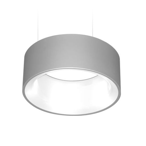 Delray Lighting 6501 Cylindro LED with Opal Acrylic Diffuser Pendant