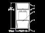 Image 2 of Lightolier MicroSquare MQ06L Pendant Bi-directional LED