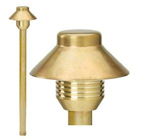 Alcon Lighting Lighthouse Copper Low Voltage LED Path Light - LED Landscape Lighting Applications