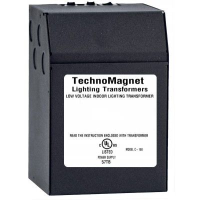 Image 1 of 150W 12V DC 240V Outdoor Dimmable LED DC Magnetic Transformer Driver ODC150S12DC240EU