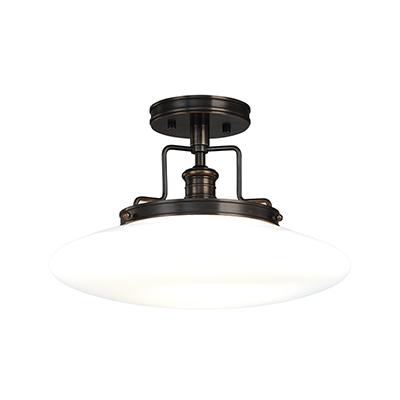 Image 1 of Hudson Valley Beacon 4205-OB Semi Flush LED Ceiling Mount Light Fixture