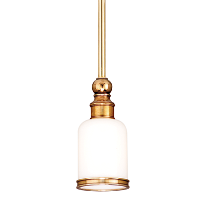 Image 1 of Hudson Valley Chatham 6321-AGB Architectural LED Pendant Mount Light Fixture