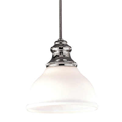 Image 1 of Hudson Valley Sutton 5921-PN Architectural LED Pendant Mount Light Fixture