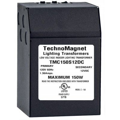 Image 1 of 150W 12V DC Indoor Dimmable LED DC Magnetic Transformer Driver