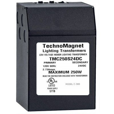 Image 1 of 250W 24V DC Indoor Dimmable LED DC Magnetic Transformer Driver