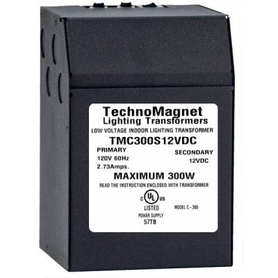 Image 1 of 300W 12V DC Indoor Dimmable LED DC Magnetic Transformer Driver