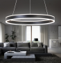 Image 9 of Alcon Lighting 12270-1 Redondo Suspended Architectural LED 1 Tier Ring Direct Indirect Chandelier Light