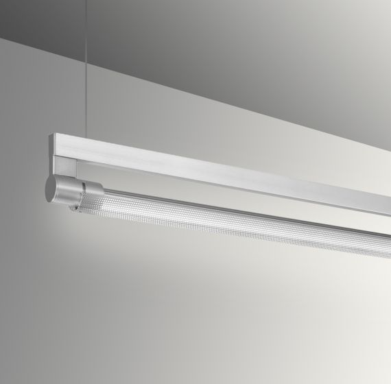 Image 1 of Gladstone Adjustable Architectural LED Strip Light Pendant - Perforated Direct