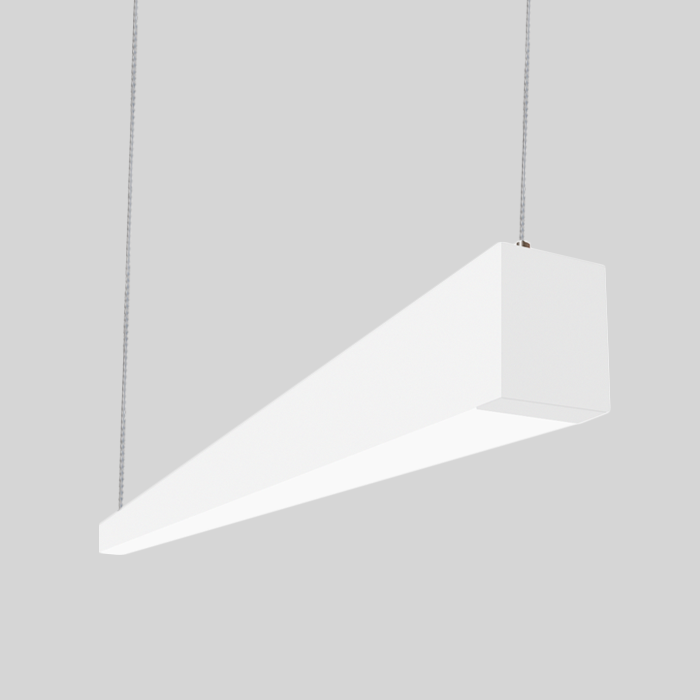 linear suspended lighting. Alcon Lighting 12145-4 I253 Series Architectural LED 4 Foot Linear Suspended Pendant Mount Direct Light Fixture | AlconLighting.com