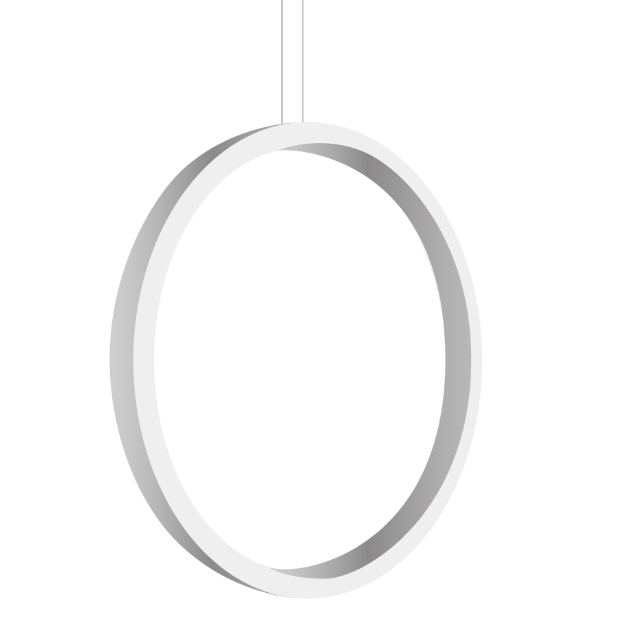 Alcon Lighting 12254 Circlo Architectural LED Vertical Circular ... for Downlight Led Png  585ifm