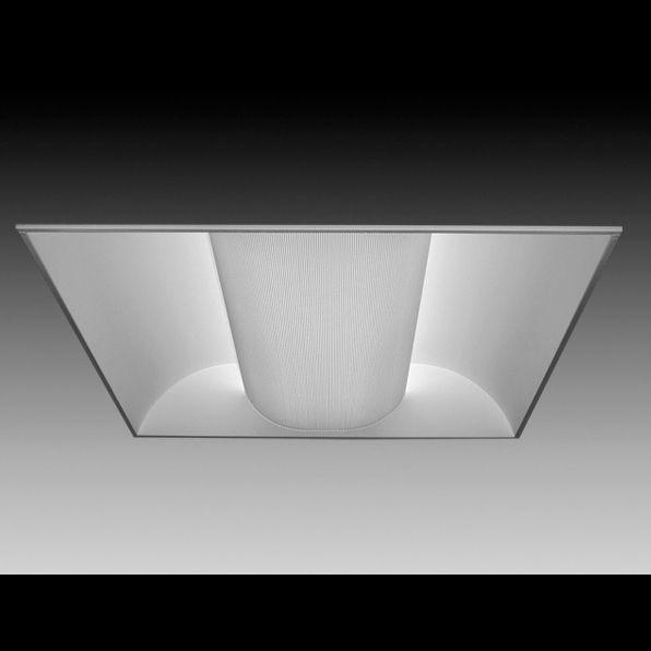 Focal Point Lighting FLUB22B Luna 2x2 Architectural Recessed Fluorescent  Fixture | Alconlighting.com