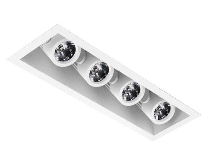 Intense lighting mxrtr4 quad led recessed lighting multiple 4 intense lighting mxrtr4 quad led recessed lighting multiple 4 light housing trim alconlighting aloadofball Images