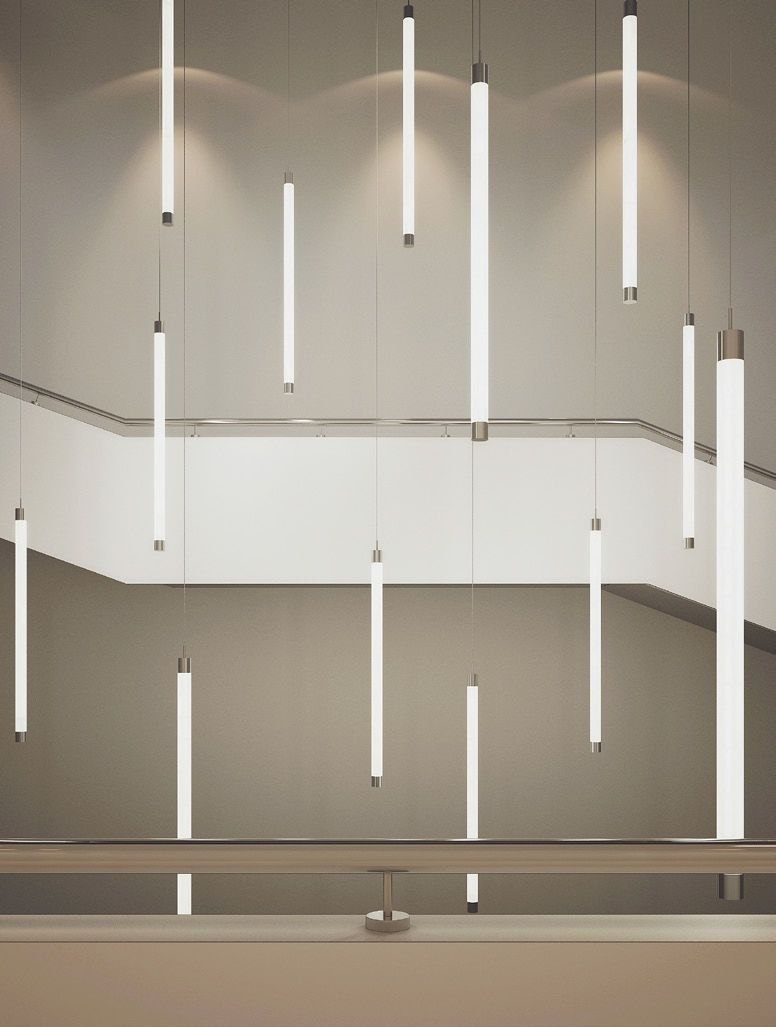Alcon lighting 12143 tube stick architectural led vertical alcon lighting 12143 tube stick architectural led vertical cylinder pendant light fixture alconlighting mozeypictures Choice Image
