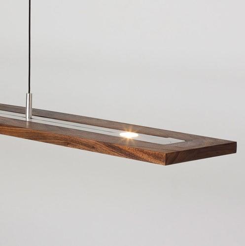 Cerno Vix 07 140 5 Light LED Linear 34 Inch Pendant