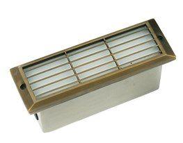 Die Cast Brass LV LED Thin Line Step Light Flush Mount