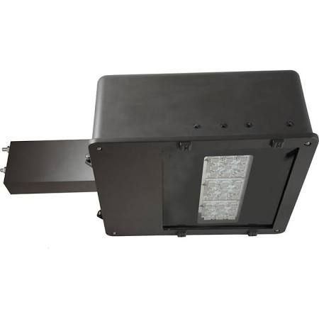 MaxLite MLAR70LED50 Series - 70 Watt Nominal (62 Watts) - 5000K LED Outdoor Flood Light Fixture - Motion / Daylight Sensor