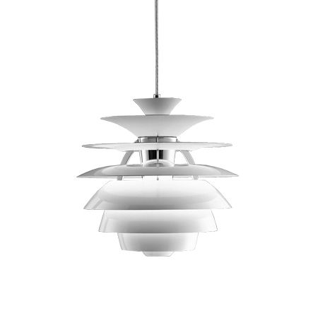 Louis Poulsen Lighting  PH Snowball Pendant Light Fixture PHS-P