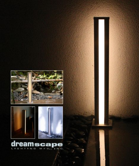 Dreamscape Lighting DLED-45 Aria LED Post Light with Dual Lenses