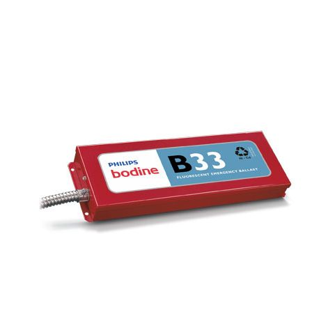 Philips Bodine B33 Emergency Ballast Three-Lamp Parallel 32W T8