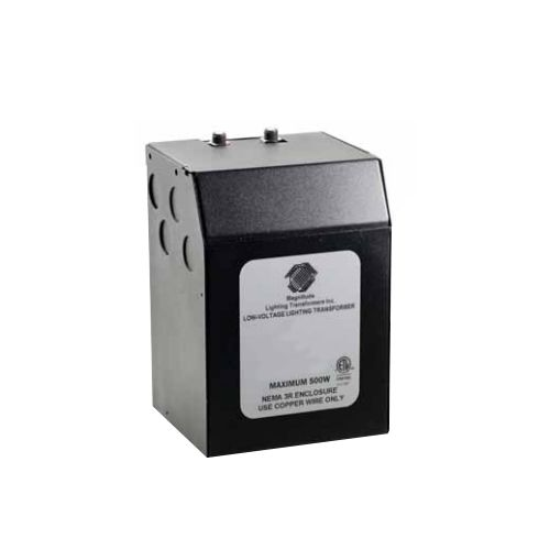 Magnitude 500 Watt 12/24 Volt AC Outdoor Transformer X500SOD