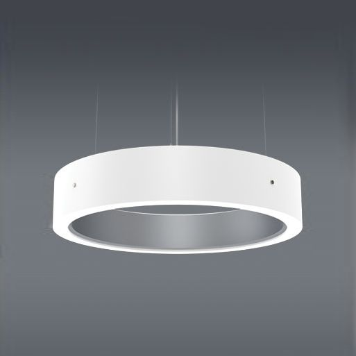 Delray Lighting 6804 Cylindro III Color LED with Opal Acrylic Diffuser 4 Feet