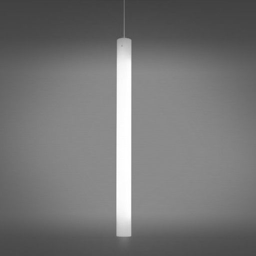 Delray Lighting 6309 Big Light Cylinder 4 Inch LED Cylinder Pendant with Downlight