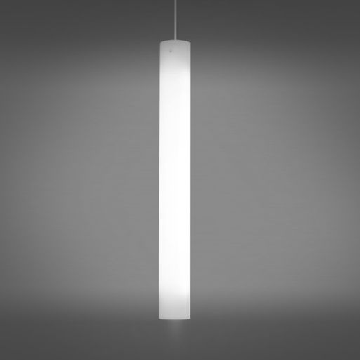 Delray Lighting 6316 Big Light Cylinder 6 Inch LED Cylinder Pendant with Downlight