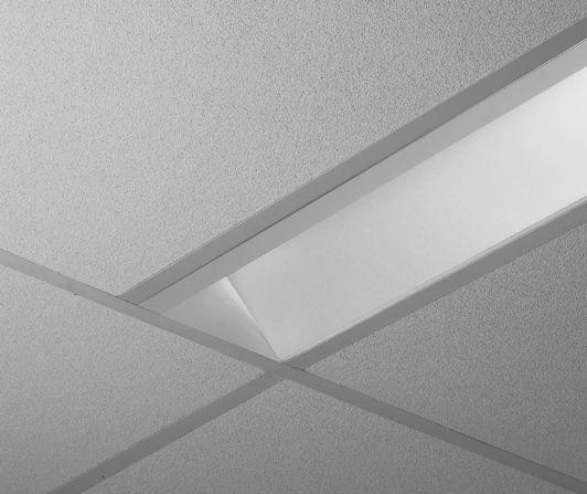 Finelite HPW High Performance Wall Wash Fluorescent Recessed Light 4 Feet HPW-1-4
