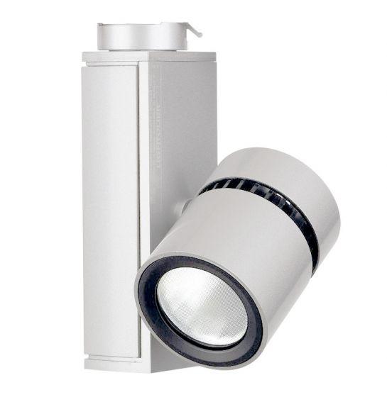 Lightolier Lytespan Mini LED Track Light Micro Cylinder 3000K White LLAV0030WH