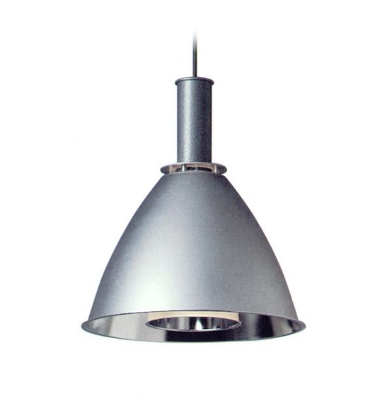 Delray Lighting 236 Aspect Metal Reflector with Glass Luminaire Fluorescent Architectural Pendant