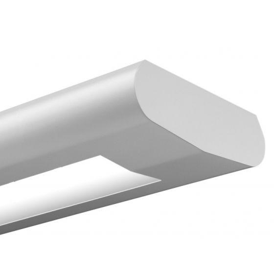 Finelite Series 10 Fluorescent Drop Fixture Pendant Direct / Indirect S10