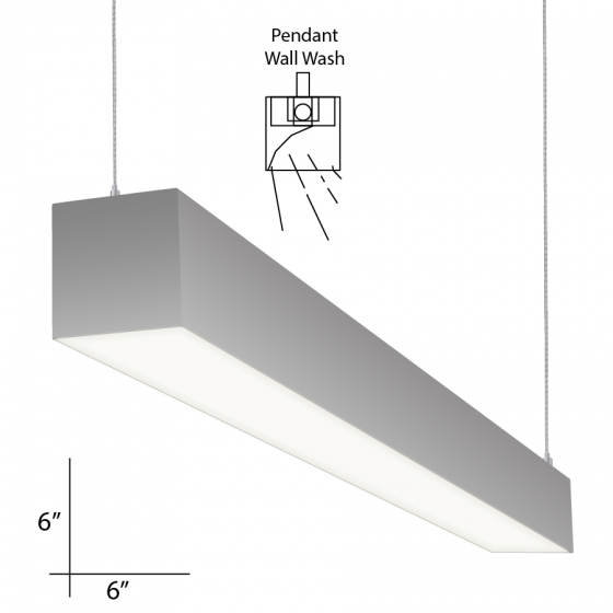 Alcon Lighting 12109 4 PWW Beam 66 Series Architectural