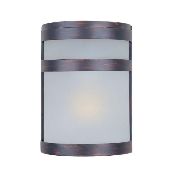 Maxim Lighting 5000FTSST Arc 1-Light Outdoor Wall Sconce