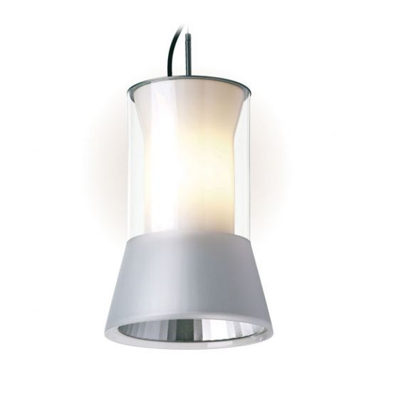 Delray Lighting 6201 and 6202 Kone Clear Glass High Bay Pendant