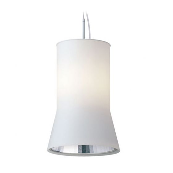 Delray Lighting 621 Kone Opal Glass Luminaire Pendant with Downlight