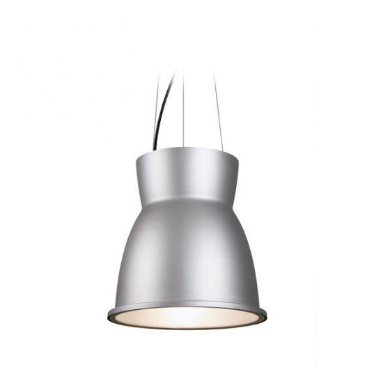 Delray Lighting 7703 Sonar I Low Bay Architectural Pendant Open
