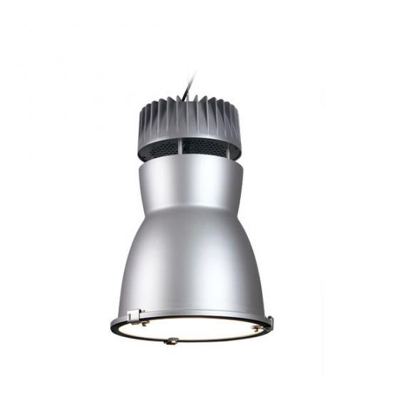 Delray Lighting 7710 Rocket Low Bay Architectural Pendant Lensed