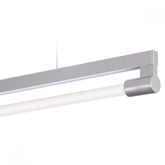 Delray ST4/ST6 Stick T5 Bare Fluorescent Single Lamp Rail Pendant
