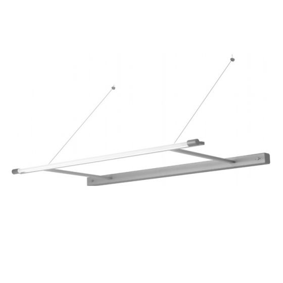 Delray Bare Stick T5 Single Lamp Wall Mount Cantilever Light Fixture