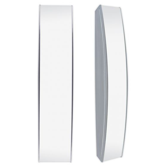 Philips Lightolier ADA Approved Brisa Linear Bow 9 Inch Fluorescent Outdoor Wall Fixture FB9314U