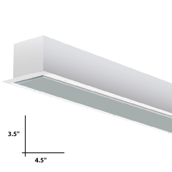 Alcon Lighting Incazzo 7010 Linear Recessed Fluorescent Ceiling Light Fixture