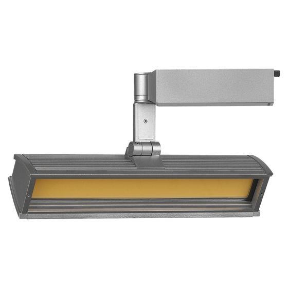 Lightolier Alcyon LED Track Light - Flood 3500k Bright White Light Color LLF35