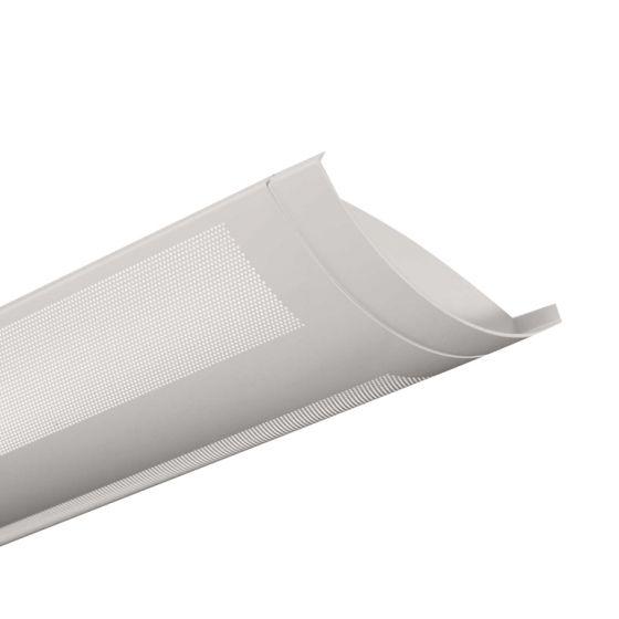 Finelite Series 5 Fluorescent Drop Fixture Pendant Perforated T5 S5-P