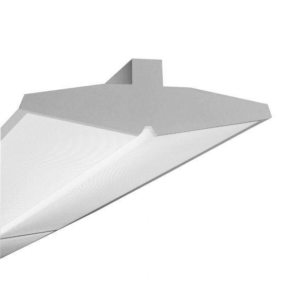 Finelite Series 15 Fluorescent Drop Fixture Pendant S15-8